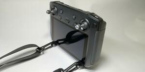 自作DJIスマート送信機用ネックストラップホルダー(サイドフックタイプ)