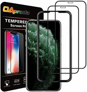 ★残り1点★5.8インチ OAproda iPhone 11 Pro/Xs/X 全面保護フィルム 液晶強化ガラス 2枚セット/ガ