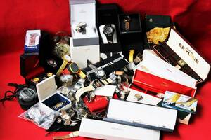 【1円~】7.6kg超 ジャンク時計 おまとめ SEIKO セイコー Citizen CASIO Gショック D&G 稼働品 手巻き 自動巻き OMEGA ROLEX Cartierも
