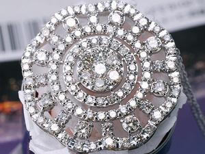 【1円スタート送料無料!】定価460万『美しいダイヤモンドのみで仕上げた』ダイヤネックレス 3.000ct Pt900/850 注目 新品 贈答品 鑑別書付