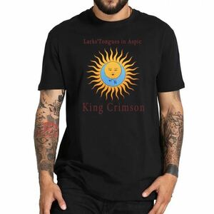 King Crimson Tシャツ バンドTシャツ バンT キングクリムゾン Tee 太陽と戦慄
