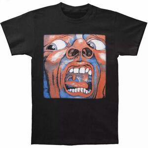 King Crimson Tシャツ バンドTシャツ バンT キングクリムゾン Tee