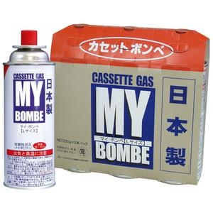 まとめ買い カセットコンロ用ボンベ マイボンベL3本組 災害 備蓄燃料 ポイント消化
