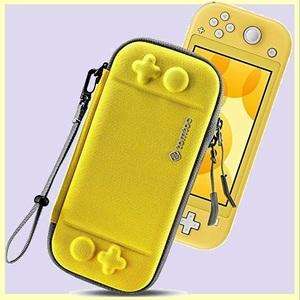 ☆★特別価格★☆新品☆未使用★ Switch Nintendo T-PY ストラップ付き イェロ- Lite対応 tomtoc ハ-ドケ-ス スイッチ ライト 耐衝撃