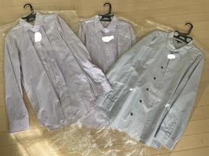 ユニクロ GAP◆ メンズ 長袖シャツ カジュアル 3着セット クリーニング済/L2着、XL1着