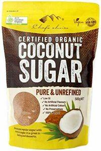 シェフズチョイス(Chef's choice) オーガニック ココナッツシュガー 500g Organic Coconut Su