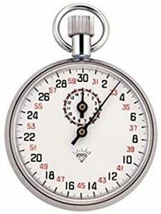M-504 【tshop】 手巻き アナログ式 ストップウォッチ 最小目盛(秒):1/10 タイミングレース タイムウォッチ 【