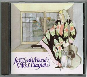 ヴィッキィ・クレイトン/ロスト・レディ・ファウンド【中古CD】Vikki Clayton 英国フォーク