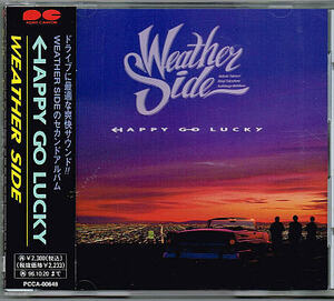 ウェザーサイド/ハッピーゴーラッキー【中古CD】サンプル盤 オメガトライブ