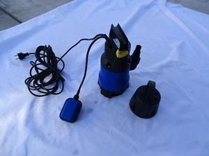 売り切り 未使用 少々難り 有水中ポンプ 100V 400W 家庭用 軽作業 農作業 洗車 雨水 汚水 アウトドア キャンピングカー 水害 台風災害対策