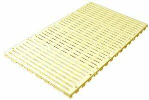 イエロー 蝶プラ工業 すのこベッド エアースリープベビー イエロー 70×120cm 782627 0ヶ月~24ヶ月
