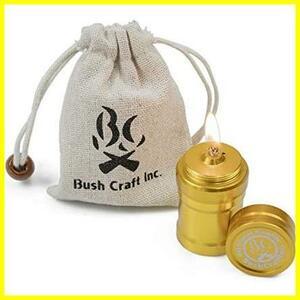 Bush Craft ブッシュクラフト オイルインサートキャンドル 45 ゴールド 45mm