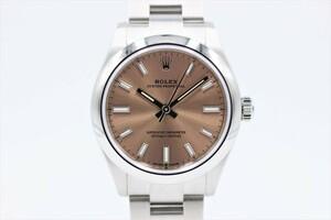 【ロレックス】 腕時計 オイスターパーペチュアル 277200 ピンク ランダム SS 2020年モデル レディース 自動巻き 中古品