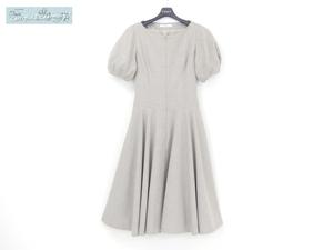 FOXEY ワンピース ドレス マロン 40 ライトナチュラル ウール '19年9月DM掲載 40142