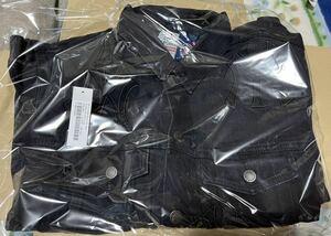 【新品・送料無料】21FW L Supreme New York Yankees Denim Trucker Jacket Washed Black 21awシュプリーム ヤンキース ジャケット North