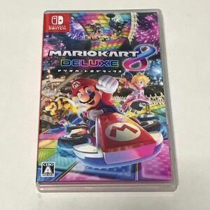 【極美品】 マリオカート8デラックス Nintendo Switch