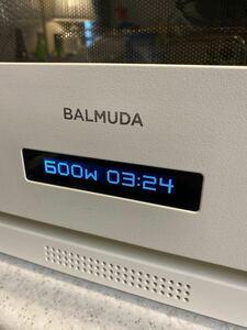 BALMUDA 電子レンジ K04A-WH