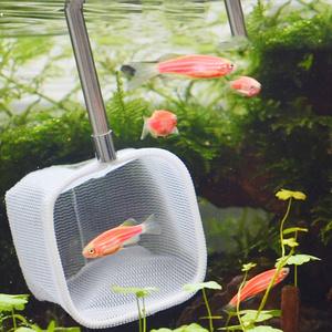 選別網 選別ネット めだか網 水槽ネット エビ選別ネット 熱帯魚 伸縮 収納スッキリ レッドビーシュリンプ メダカ 。