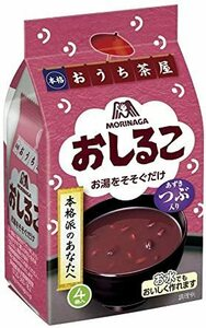 新品森永製菓 おしるこ 4袋入×5個R045667SMTD