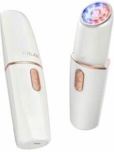 美顔器 RF(ラジオ波) ems 1台5役 赤光 青光 振動 温熱ケア rf美顔器 目元ケア フェイスケア リフトアップ 家庭用美顔器 3段階レベル