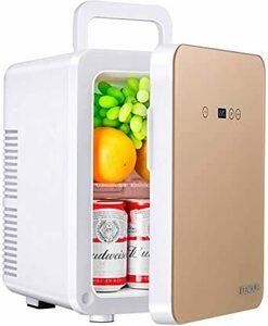 新品シャンパンゴールド EENOUR 冷温庫 10L ポータブル 小型 冷蔵庫 保温・保冷用 -2℃~60℃ 温度調1E8S