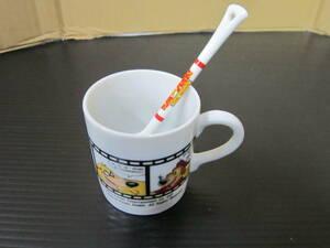 m000768 トムとジェリー(Tom and Jerry) マグカップ・スプーンセット 未使用