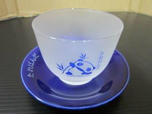 m000770 たれぱんだ 麦茶SET(グラスと受け皿) 未使用