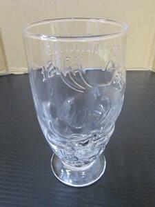 m000763 DISNEY(ディズニー) ミッキーマウス(Mickey Mouse)レリーフグラス 未使用