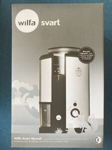 コーヒーグラインダー wilfa SVART Nymalt WSCG-2