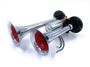 [D type Mini yan key horn 200mm 24V] reality . air horn . most . high. is that type! super height sound liking. person . recommended!