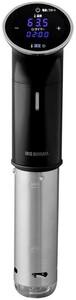 アイリスオーヤマ 真空調理器 スロークッカー 低温調理器具 防水機能搭載 レシピブック付き ブラック LTC-01