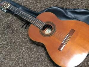 阿部ガット手工品 ガットギター 中島登作 昭和46年1月 第2号 ソフトケース 中古楽器
