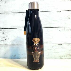 ポロ ラルフローレン ポロベアー ネイビー 保温保冷 タンブラー 水筒 ステンレスボトル マイ ボトル 新品 ブランド 激レア スターバックス