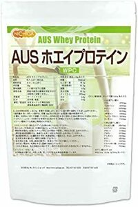 1kg AUS ホエイプロテイン グラスフェッド 1kg NICHIGA(ニチガ) WPC製法タンパク含有率81%