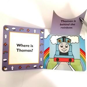 英語絵本 きかんしゃトーマス Thomas 電車 しかけ絵本 洋書 コレクション 英国製