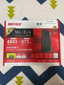 (新品) 無線LANルータ 親機 WSR-5400AX6S-MB マットブラック バッファロー