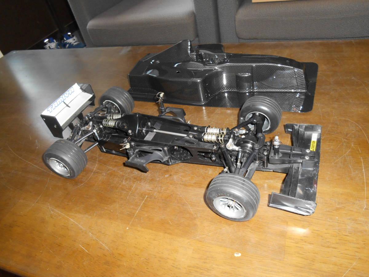 タミヤ F201 4WD オプションパーツ スペアーパーツ付き