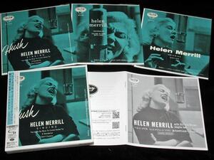 【DU特典付】[限定版] ヘレン・メリル ウィズ・クリフォード・ブラウン 録音60周年記念 シングルBOX【3 SHM-CDs】HELEN MERRILL