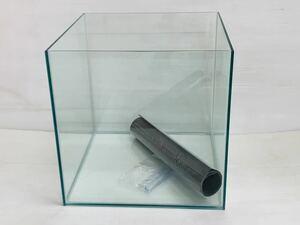 レア!オールガラス450キューブ水槽(450×450×450)クリアー 未使用品 熱帯魚、水草、爬虫類、小動物、金魚、らんちゅう飼育等に