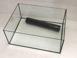 激レア 600×450×300水槽 ブラック 未使用品 金魚 メダカ エビ 川魚 水棲カメ テラリム 水草育成 両生類 爬虫類飼育に 黒