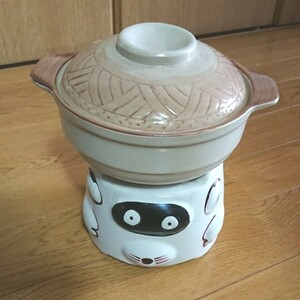 1人鍋 たなべ たぬき 陶器土鍋 どうししゃ