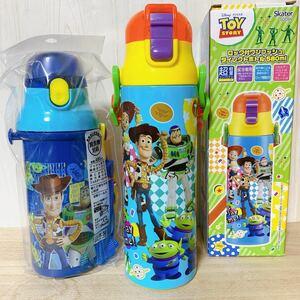 トイストーリー☆580ml直飲みステンレスボトル&直飲みスポーツボトル