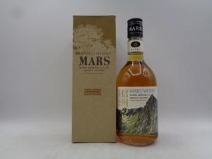 【同梱OK商品】MARS WHISKY マルス ウイスキー 信州の旅 中央アルプス 550ml 40% 箱入 未開栓 古酒 国産 本坊酒造 F91302