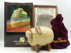 NIKKA WHISKY ニッカ ウイスキー タル 樽 陶器 特級 700ml 43% 箱入 未開封 古酒 X73626