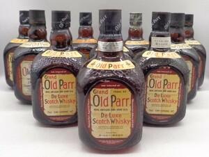 1円スタート オールドパー 10本セット スコッチ ウイスキー 古酒 R5 X71272