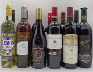 1円スタート ワイン 等 12本セット TOUR DE BIGORRE 等 古酒 S8 X73502