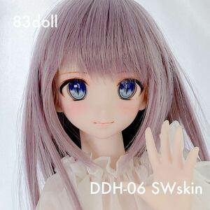 83yami-DDH-06 セミホワイト肌 カスタムヘッド+自作オリジナルアイ2種類