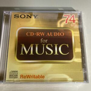 SONY CD-RW 音楽用