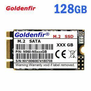 ★ 最安新品!● SSD Goldenfir M.2 128GB 2242 新品未開封 高速 SATA3 TLC 3D NAND 内蔵 デスクトップ ノートPC (a1734)