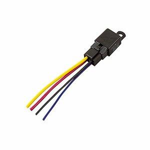 4線(4極)/360W以下/消費電流150mA エーモン リレー 4線(4極) DC12V・360W(30A) 3236